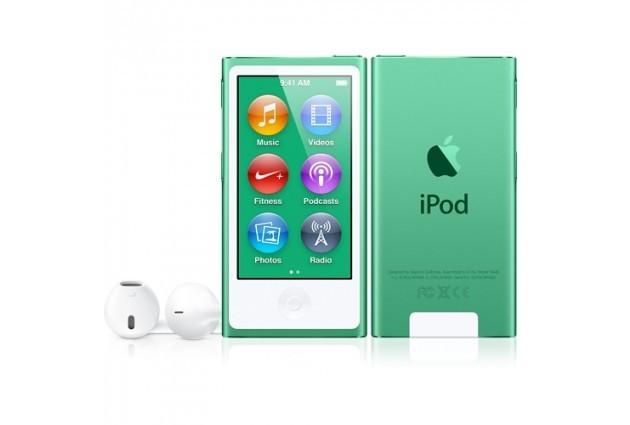 Apple iPod nano плейър 16 GB (2012) - зелен цвят