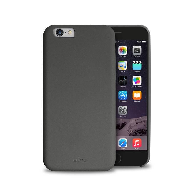 Тъмносив ултратънък защитен кейс Puro Ultra Slim за iPhone 6