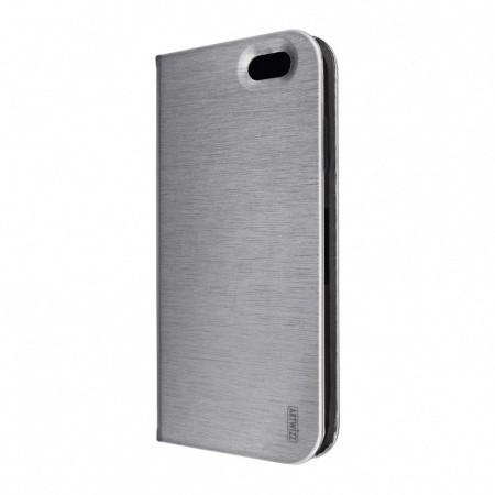 Сив калъф тип портфейл с функция стойка FolioJacket от Artwizz за смартфон Apple iPhone 6/6s