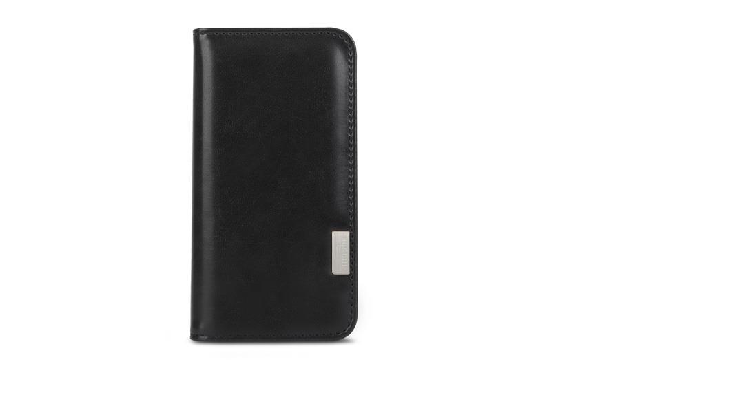 Черен кейс с капаче Overture от Moshi за смартфон Apple iPhone 7 Plus