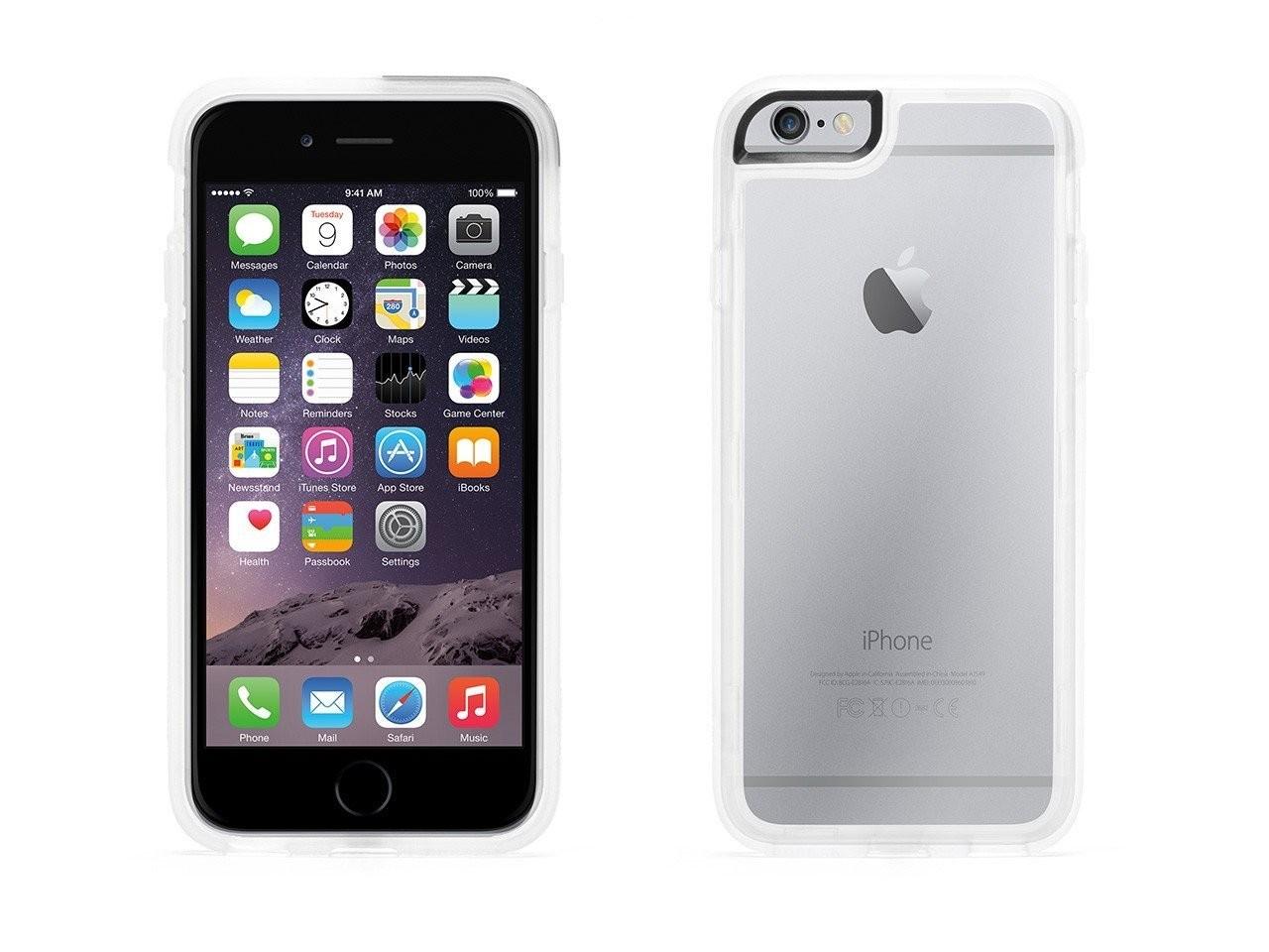 Прозрачен защитен кейс Griffin Identity за смартфон Apple iPhone 6