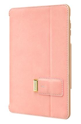 Розов защитен кейс Pelle с елементи Сваровски за таблет iPad mini oт SwitchEasy