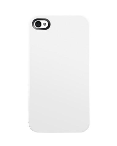 Тънък бял пластмасов кейс SwitchEasy NUDE за Apple iPhone 4