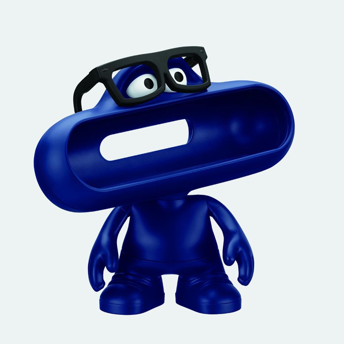 Синя пластмасова стойка Beats Pill Dude за колонките Beats Pill