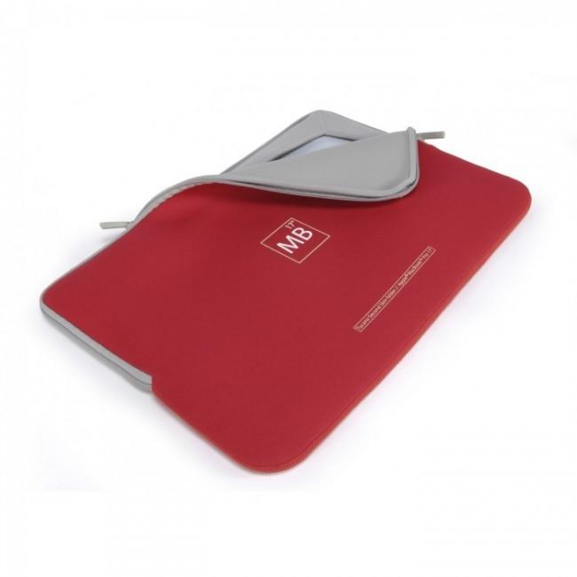 """Червен неопренов калъф Tucano Second Skin за Apple MacBook Pro 17"""""""