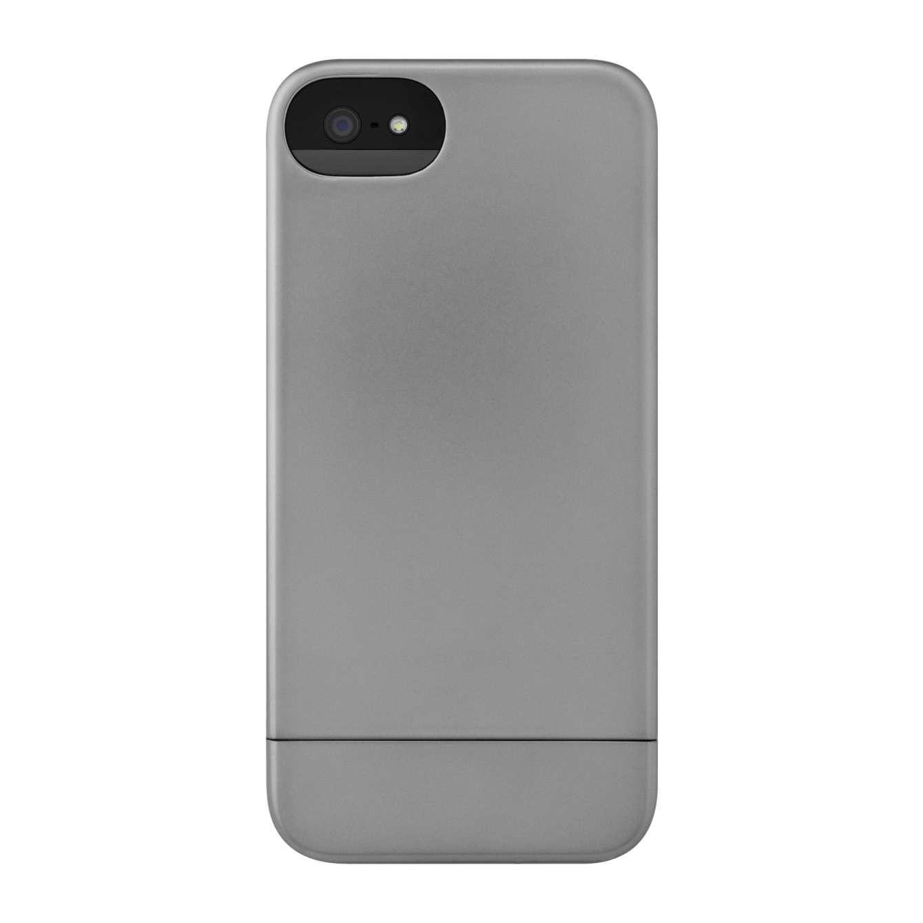 Сив кейс от две части Incase за Apple Phone 5s/SE/5 с метален завършек