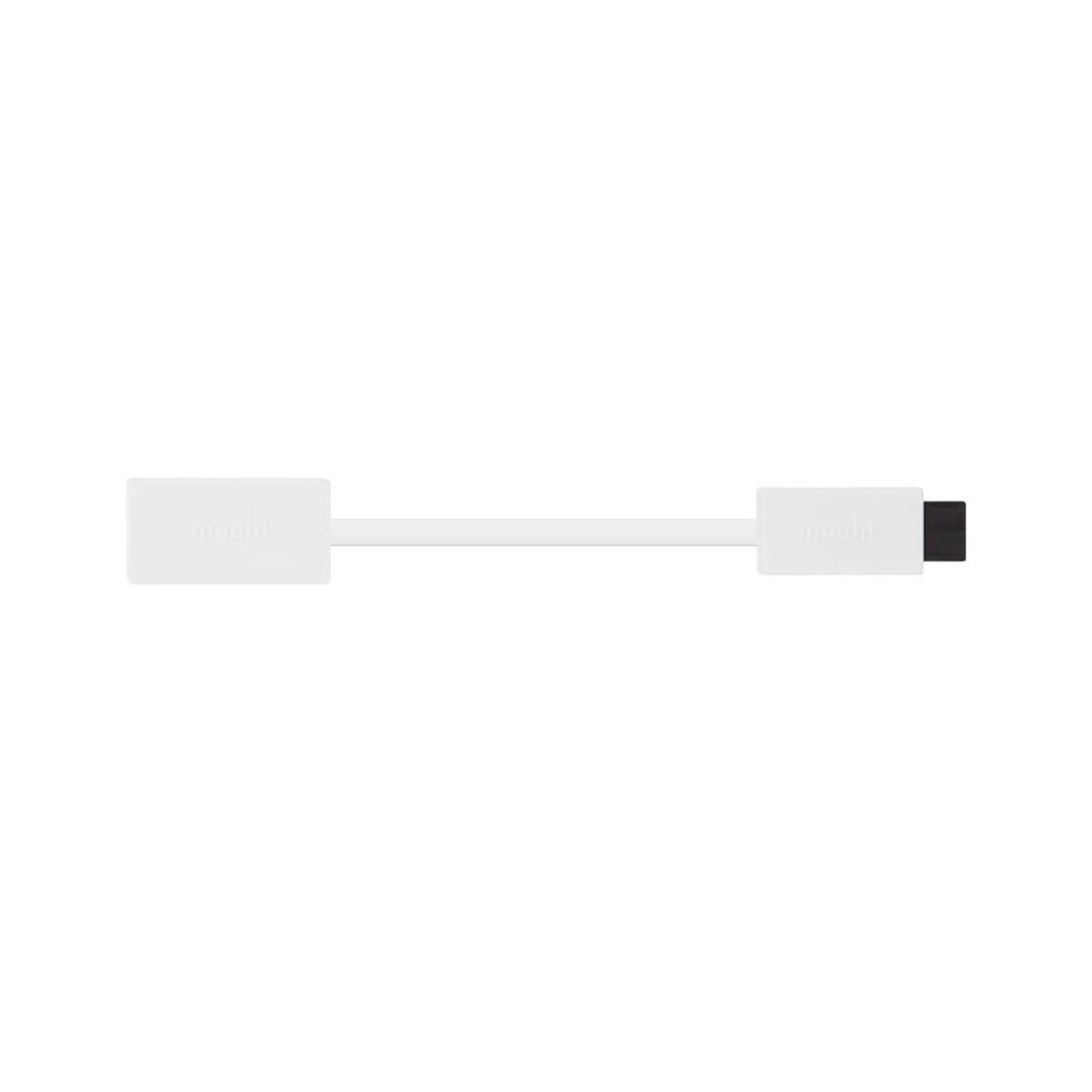 Бял адаптер Moshi FireWire 800 към 400