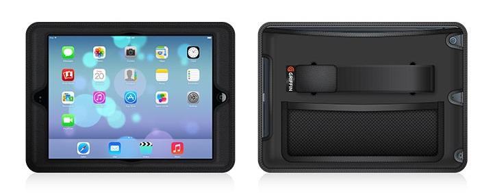 Черен кейс CinemaSeat за iPad Air на Griffin