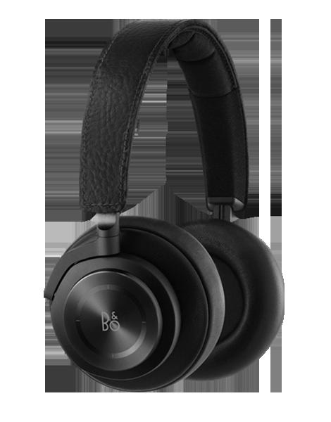 Beoplay H7 Over-Ear черни безжични слушалки с рамка и наушници, обхващащи ухото