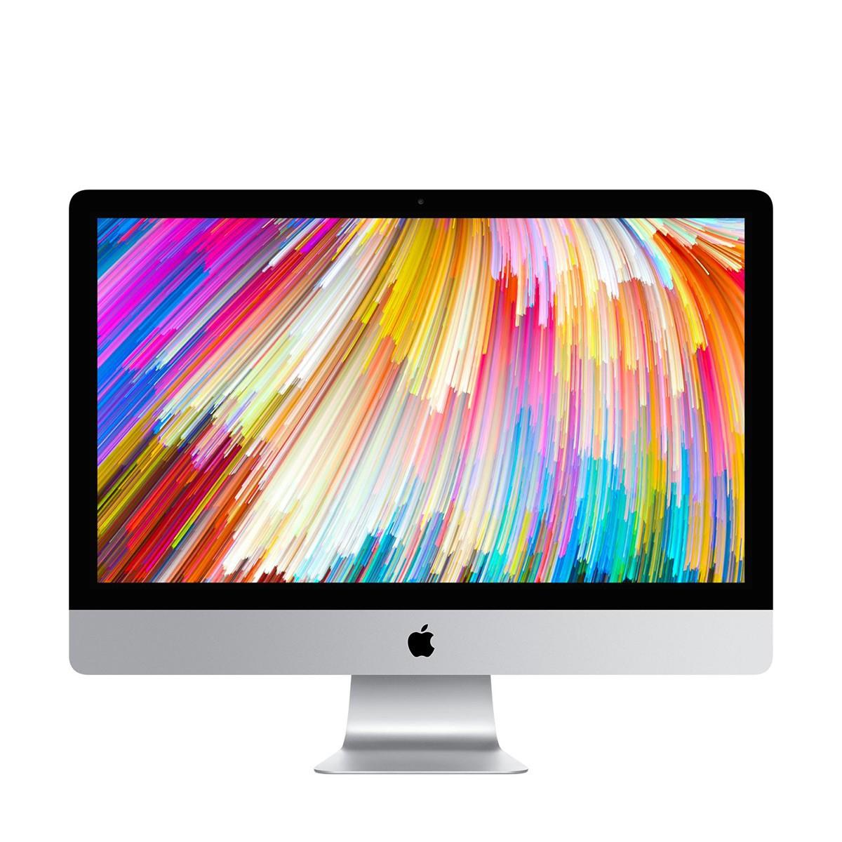 """Настолен компютър Apple iMac 27"""" с 3,8GHz четириядрен Intel Core i5 процесор и 8GB памет - международна клавиатура"""