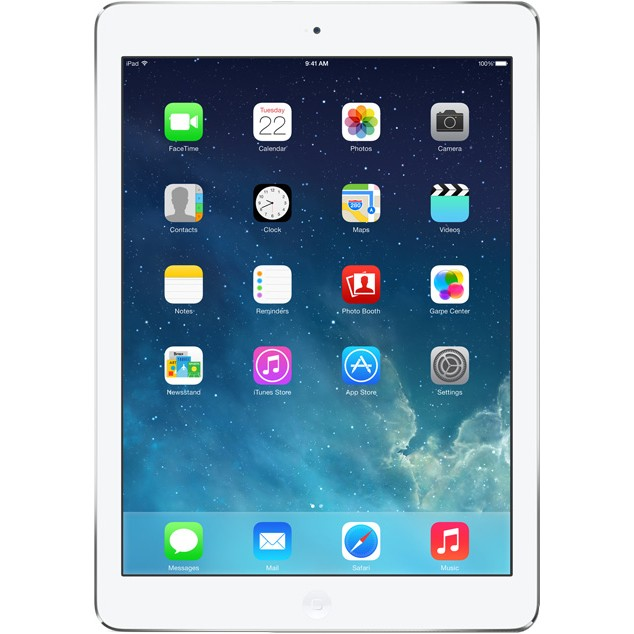 "Таблет Apple iPad Air с 9.7"" дисплей и Wi-Fi 16GB - сребрист цвят"