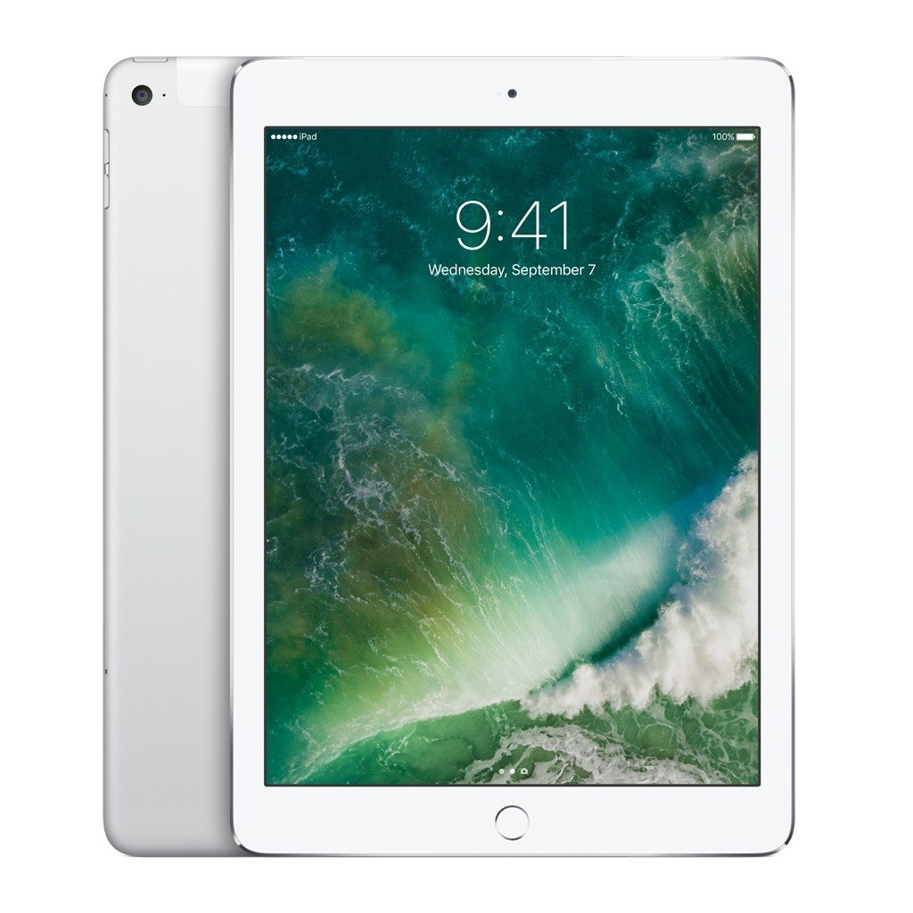 Сребрист таблет Apple iPad Air 2 Wi-Fi + Cellular 32GB