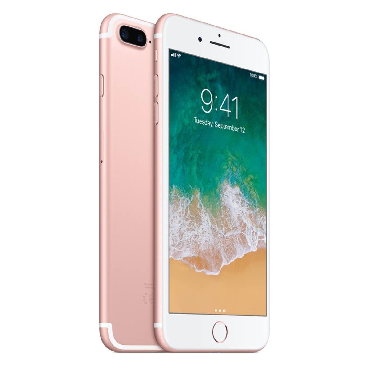 Светлорозов Apple iPhone 7 Plus с 256 GB памет