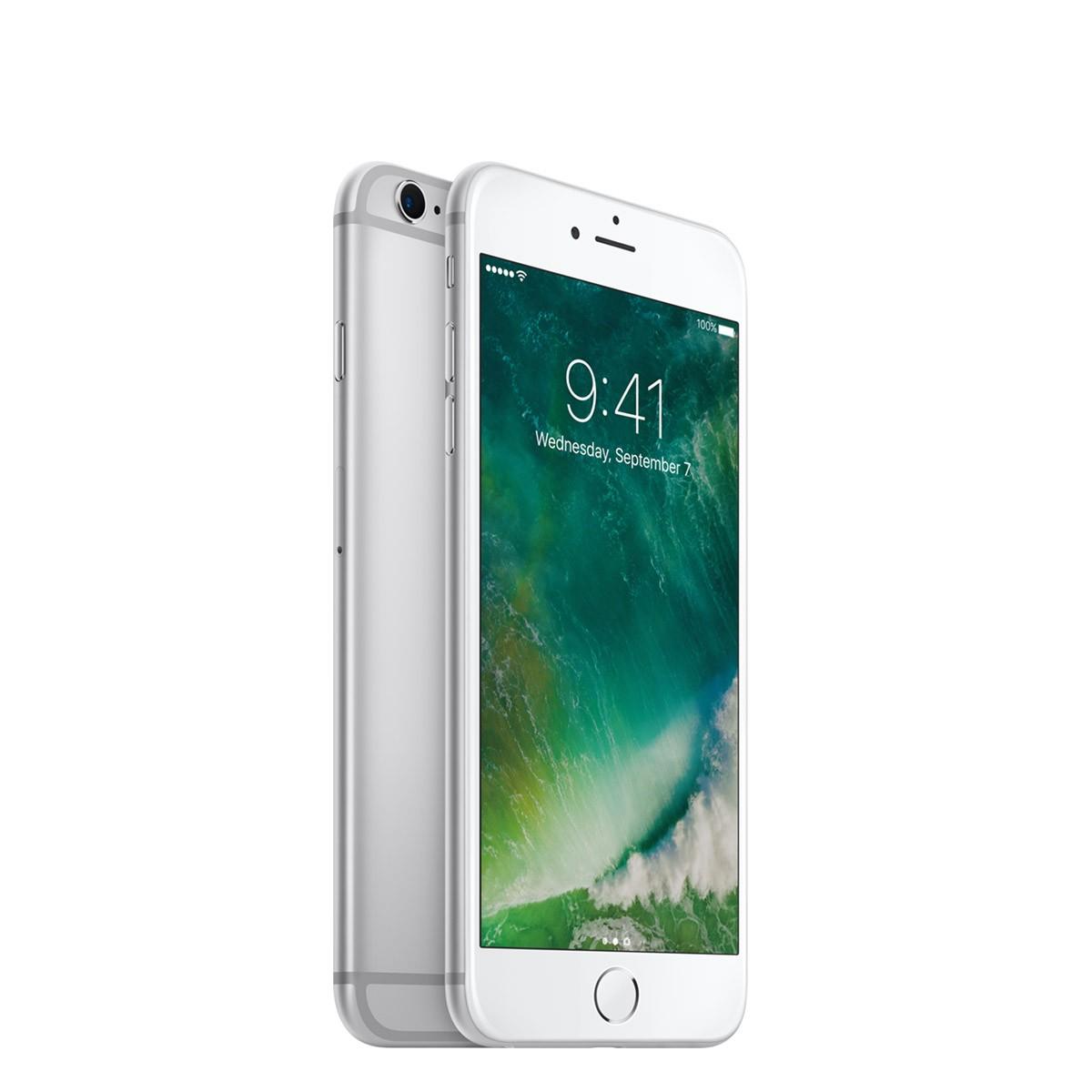 Смартфон Apple iPhone 6s с 32 GB памет, 12.0 MPx камера, 4G връзка и 3D Multi-Touch технология - сребрист цвят