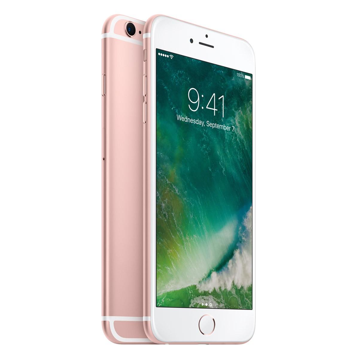 Светлорозов iPhone 6s Plus със 128 GB памет