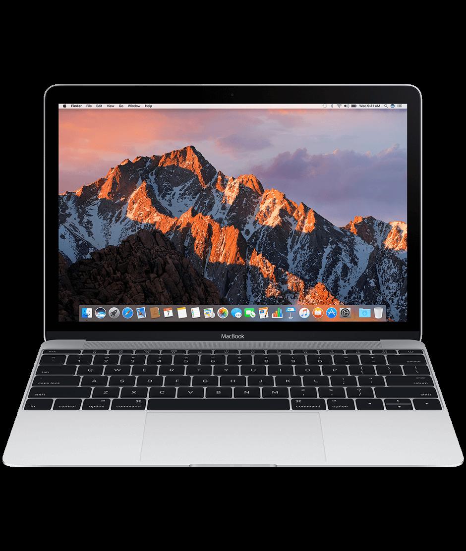 "Сребрист лаптоп Apple MacBook"" с двуядрен 1,2GHz Intel Core m3 процесор, 256GB SSD памет - международна клавиатура"