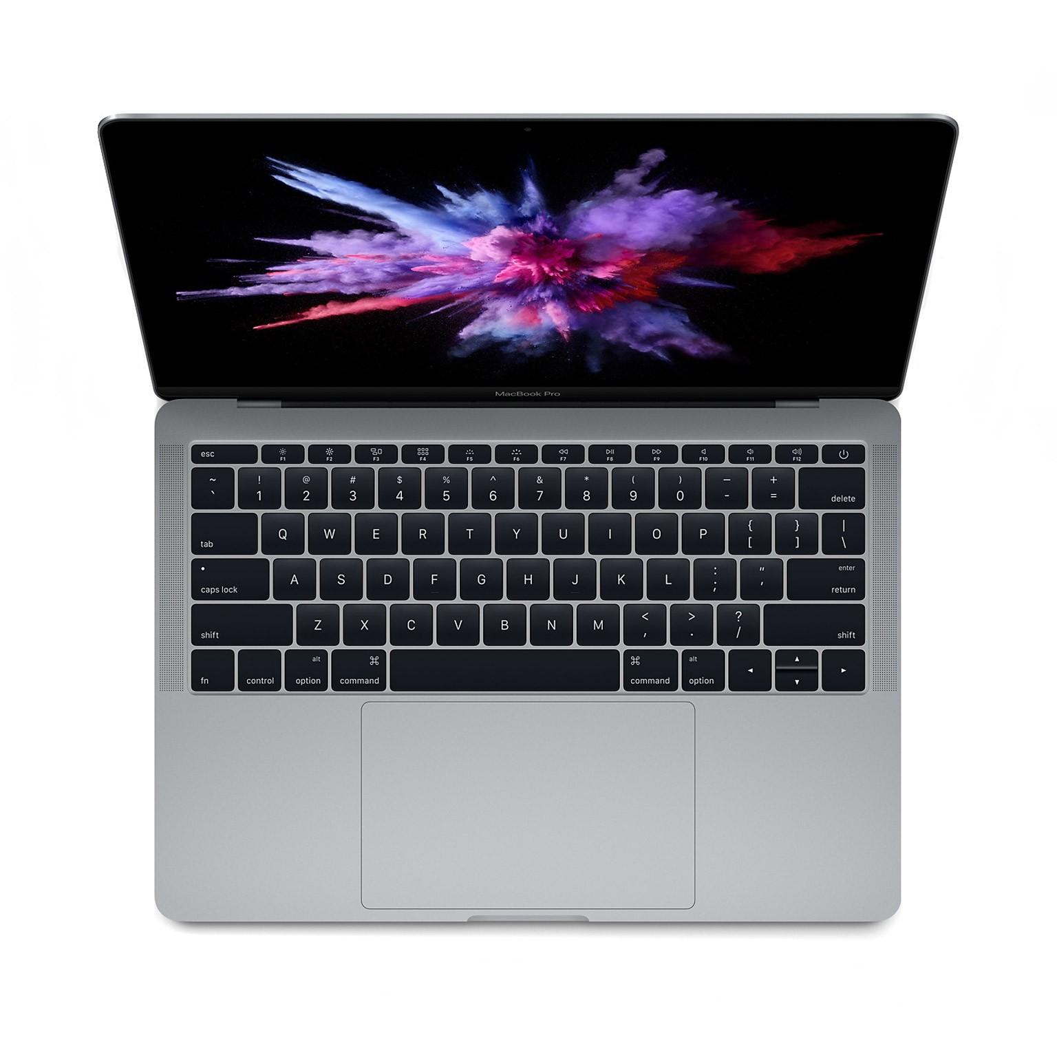 "Тъмносив Apple MacBook Pro 13"" с двуядрен Intel Core i5 процесор, памет 128GB - българска клавиатура"