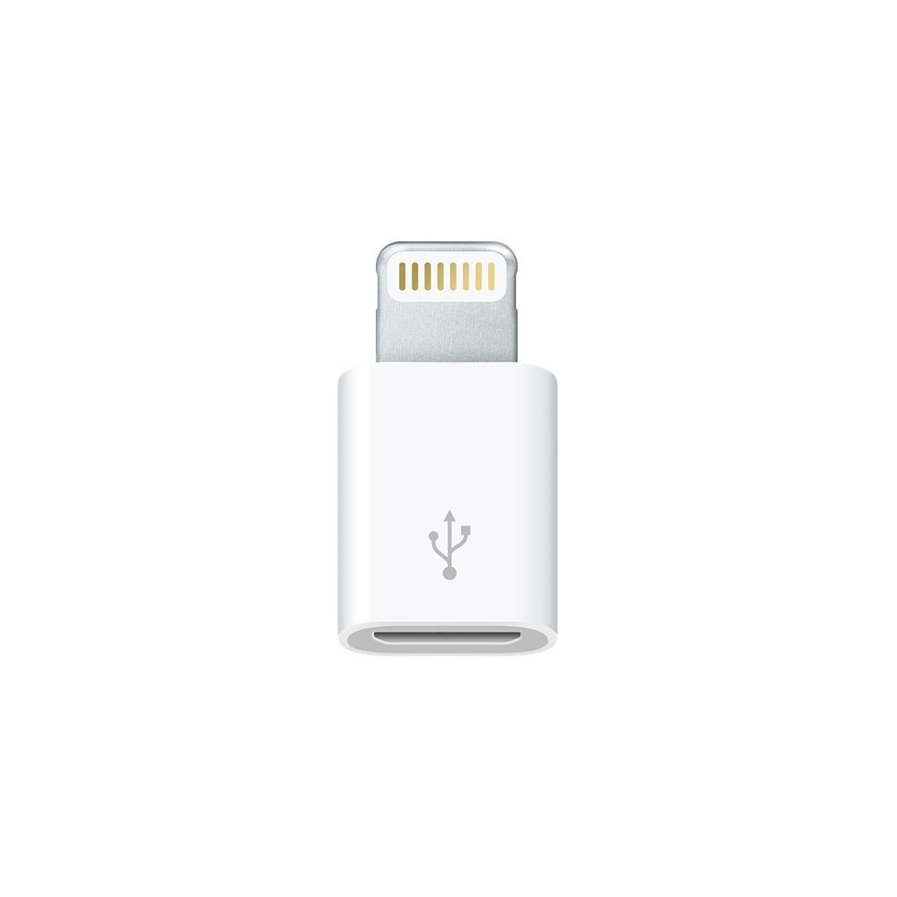 Apple Lightning към micro USB адаптер