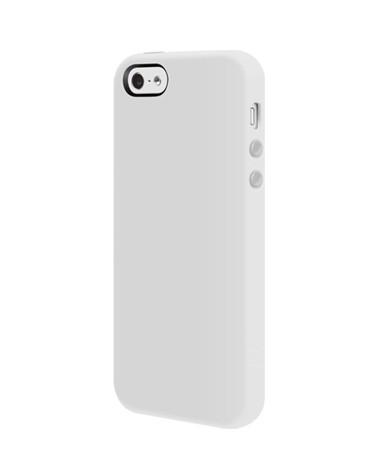 Бял силиконов кейс SwitchEasy Colors за Apple iPhone 5