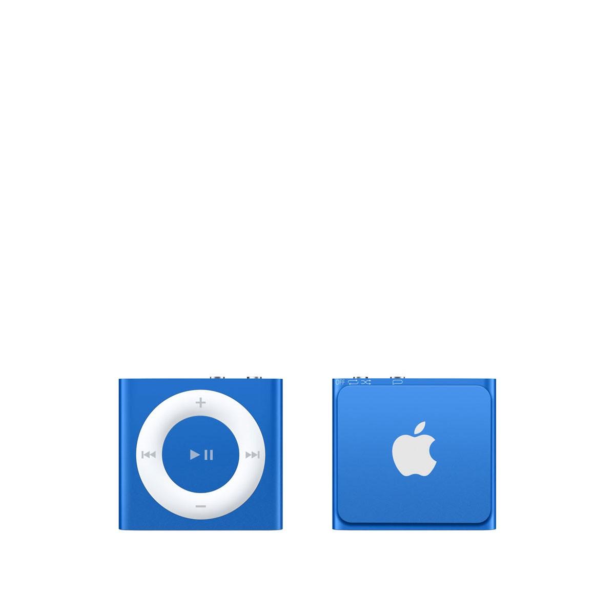 Син Apple iPod shuffle плейър с 2GB памет