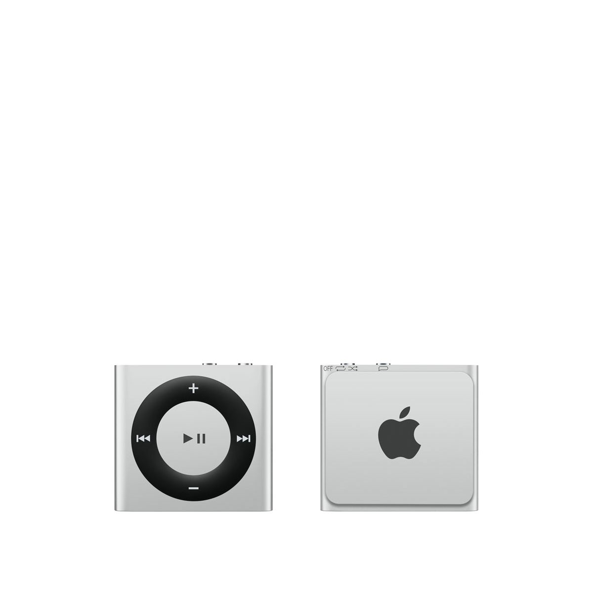 Сребрист Apple iPod shuffle плейър с 2GB памет
