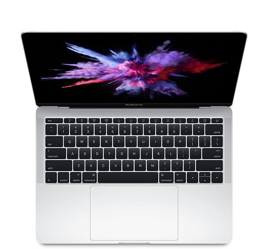 "Сребрист Apple MacBook Pro 13"" с двуядрен Intel Core i5 процесор, памет 128GB - международна клавиатура"