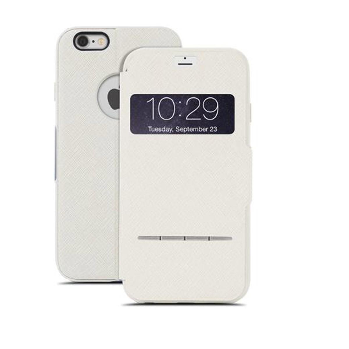 Бежов сгъваем чувствителен на допир кейс Moshi за Apple iPhone 6