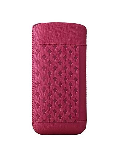 Розов кожен калъф Ozaki O!coat Nature за Apple iPhone 5/5S/SE