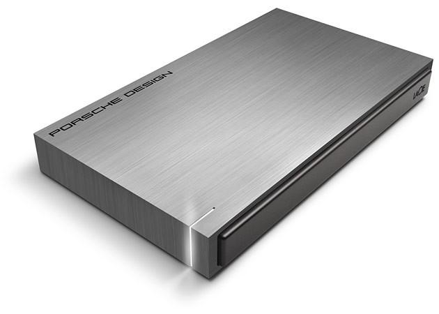Ултрабърз тъмносив USB 3.0 външен хард диск LaCie Porsche Design P'9220 - 500 GB