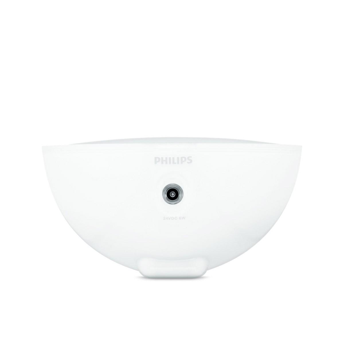 Бяла портативна настолна лампа Hue Go от Philips