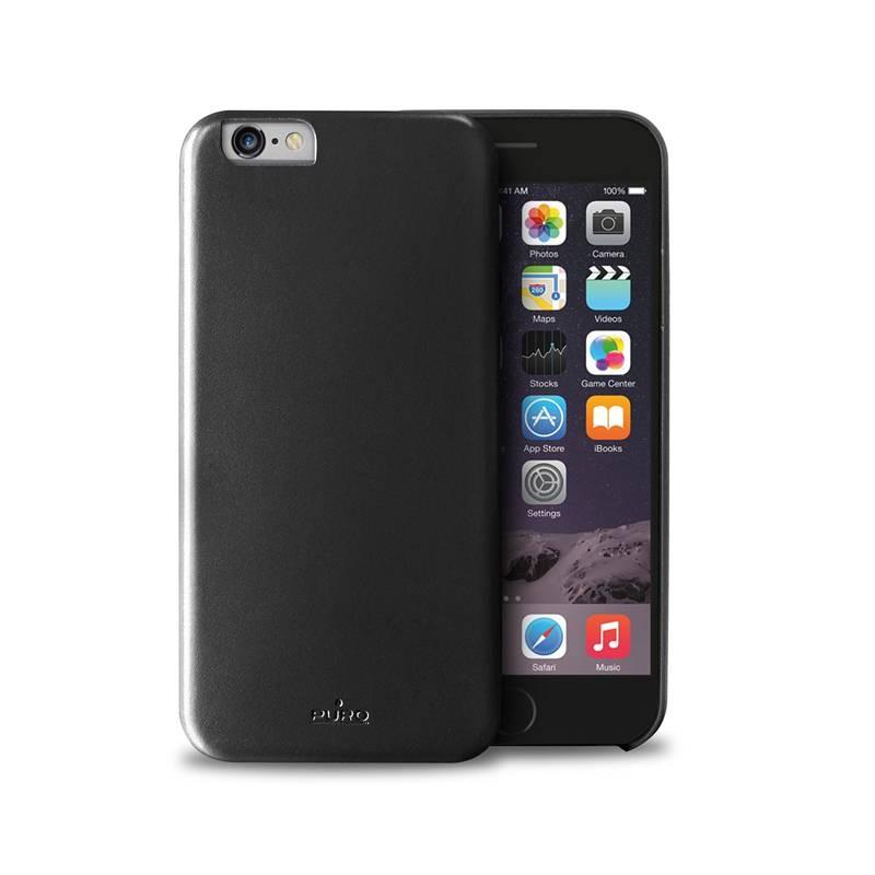 Черен защитен кейс Puro Vegan за iPhone 6
