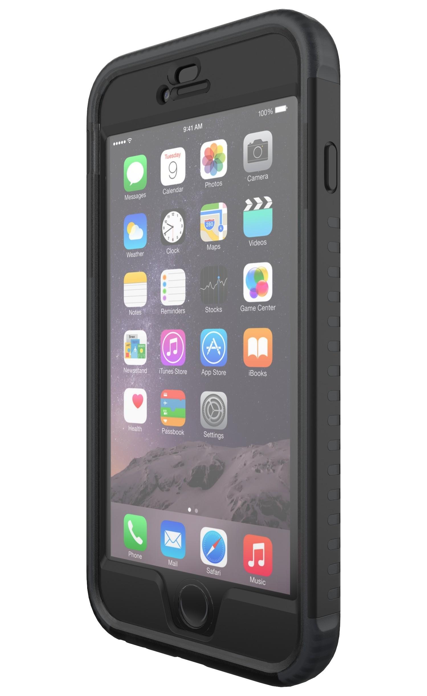 Черен кейс от две части Patriot Case от Tech21 за смартфон Apple iPhone 6/6S