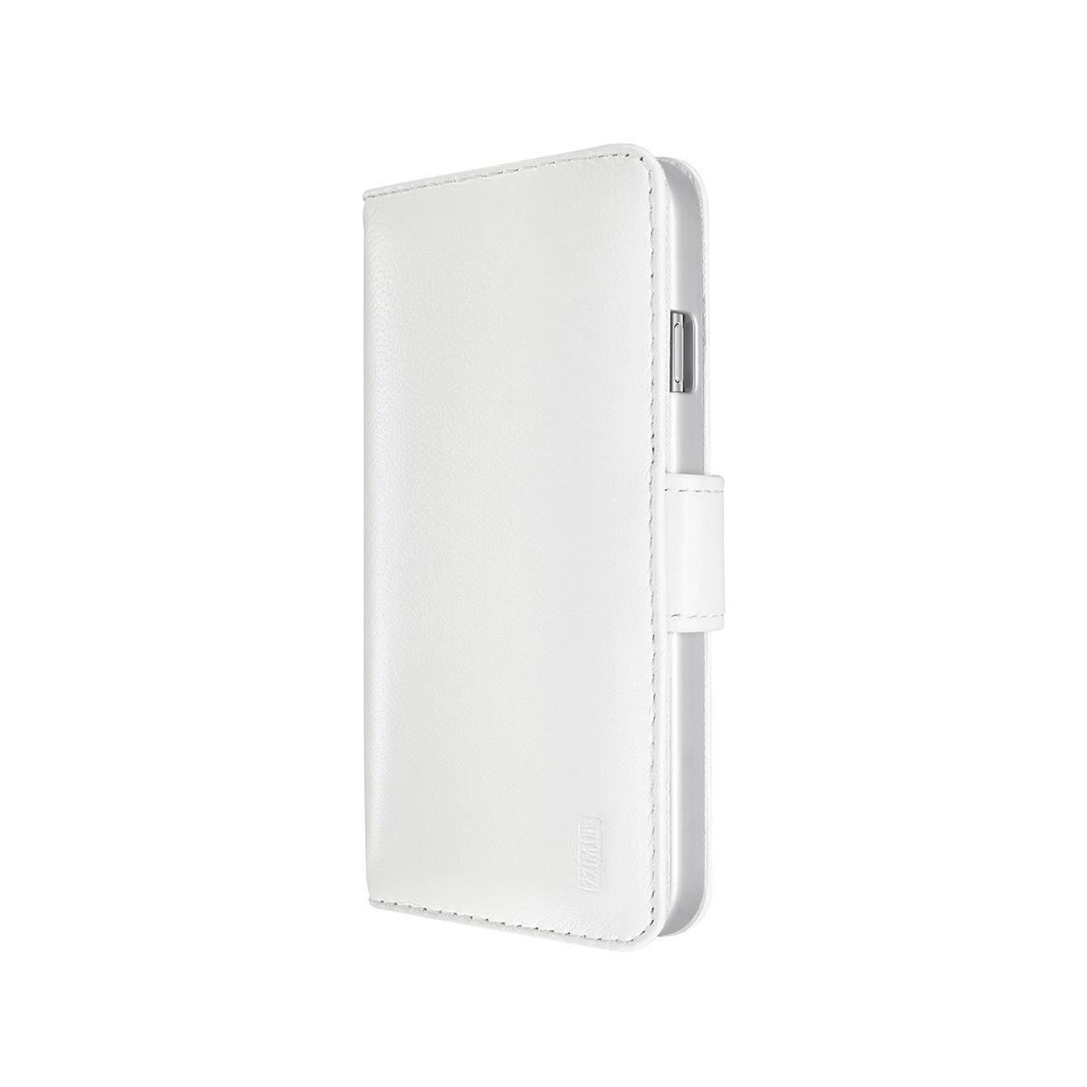 Бял кожен калъф Artwizz за Apple iPhone 6 с магнитно закопчаване
