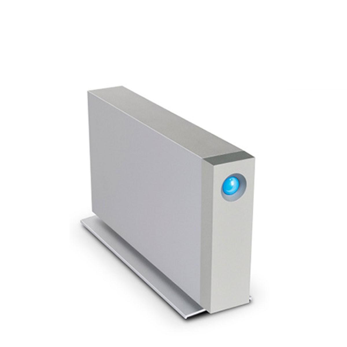 Сребрист външен хард диск LaCie d2 с Thunderbolt 2 и USB 3.0 - 7200 RPM, 3TB