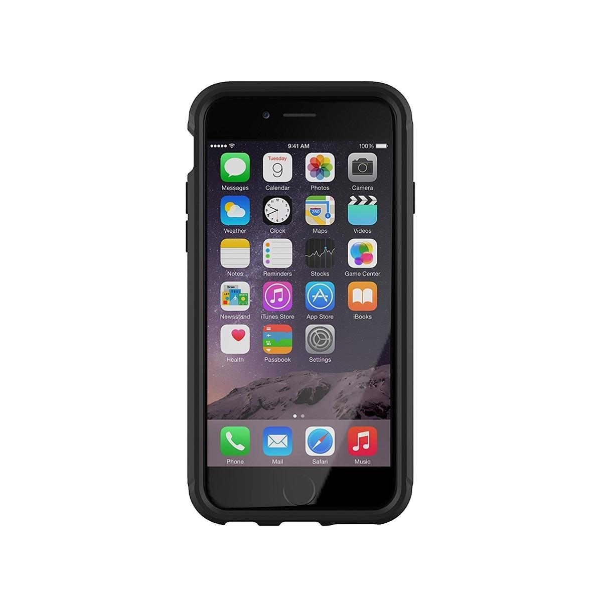 Черен кейс Evo Tactical от Tech21 за смартфон Apple iPhone 6/6s
