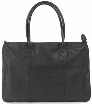 """Дамска черна кожена чанта Tucano Limited Edition One Premium за Apple MacBook Air и Pro 13"""" Retina дисплей"""