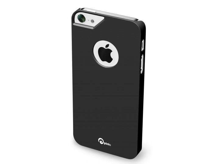 Метален черен защитен кейс Pinlo Consize за Apple iPhone 5/5s