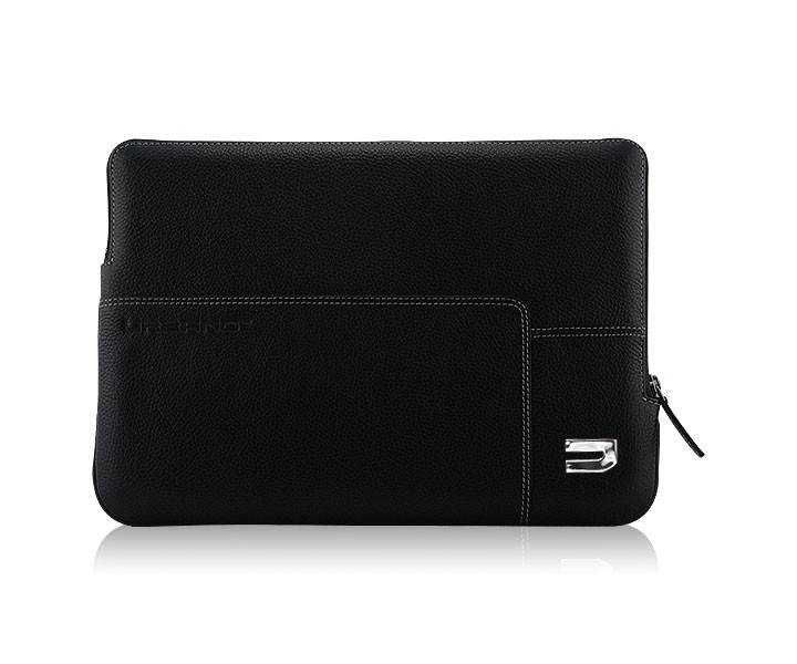 """Черен калъф от естествена кожа Urbano за Apple MacBook Air 13"""""""