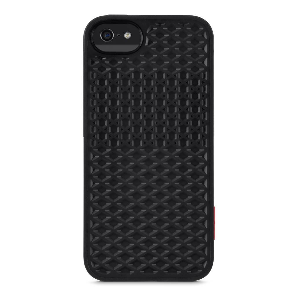 Черен кейс Belkin VANS за Apple iPhone 5 с геометрични детайли