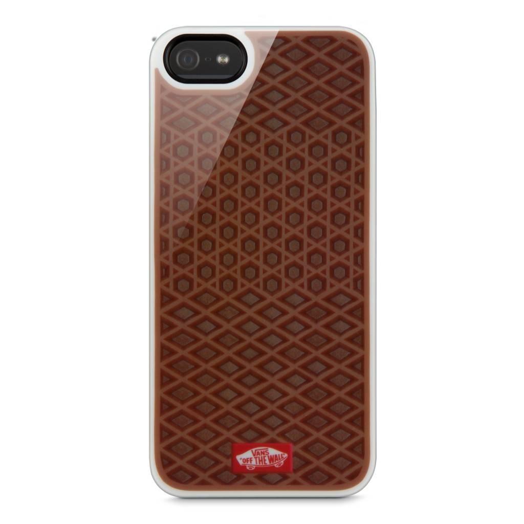 Кафяв кейс Belkin VANS за Apple iPhone 5 с геометрични детайли