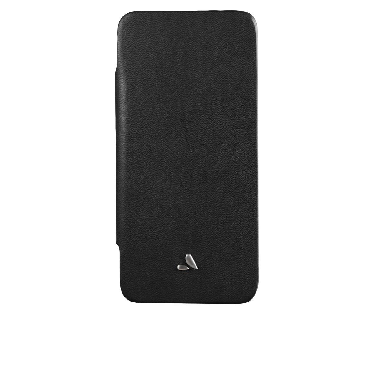 Черен кейс Vaja за Apple iPhone 5/5s от естествена кожа