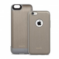 Moshi iGlaze Ion Battery Case for iPhone 6/6s - Titanium