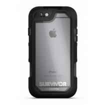 Черен защитен калъф Griffin Survivor Summit за iPhone 6/6s