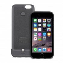 Moshi iGlaze Ion Battery Case for iPhone 6/6s - Black Steel