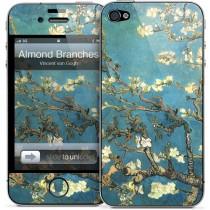 GELASKIN кейс с художествен мотив за Apple iPhone4S/4
