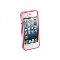 Розов бъмпер Cellular Line за Apple iPhone 5