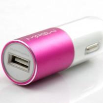 Розово зарядно устройство за автомобил Bolt Dual USB от MiPow