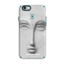 Защитен кейс Candyshell Inked на Speck за iPhone 6/6s с шарка с лице в сиво