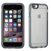 Сив защитен кейс с прозрачен гръб на Speck MightyShell за iPhone 6/6s