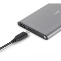 Сива преносима батерия Moshi IonSlim 5K